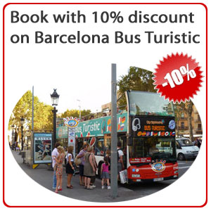 Barcelona Bus Turistic with 10% Discount